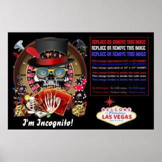 """Vegas así que va el poster incógnito 60"""" X 40"""" ve"""