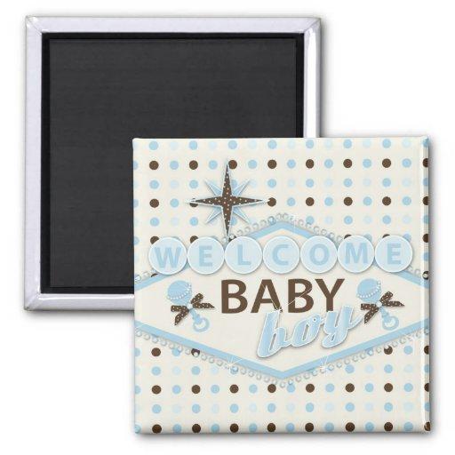 Vegas Baby Boy Magnet