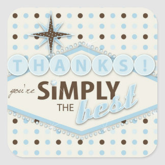 Vegas Baby Boy TY Sticker