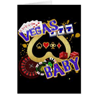 VEGAS BABY CARD
