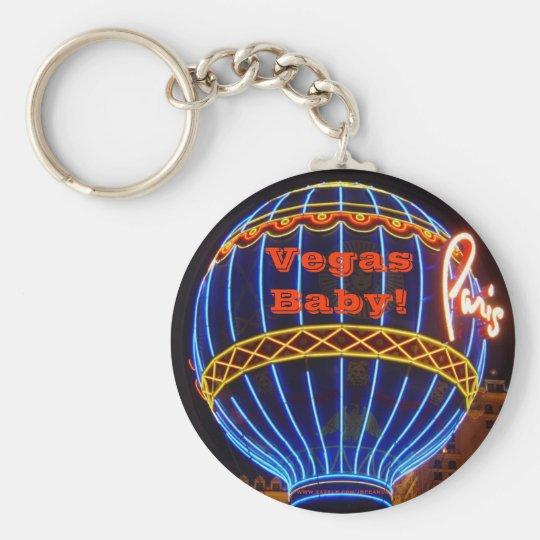 Vegas Baby! Keychain