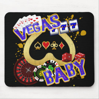 VEGAS BABY MOUSE PAD