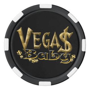 Vegas Baby Poker Chips at Zazzle