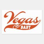 Vegas Baby Rectangle Sticker