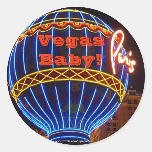 Vegas Baby! Sticker