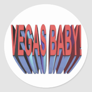 VEGAS BABY!  STICKERS