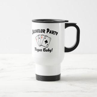 Vegas Bachelor Party 15 Oz Stainless Steel Travel Mug