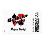 Vegas Bachelor Party Stamp