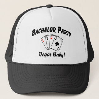 Vegas Bachelor Party Trucker Hat