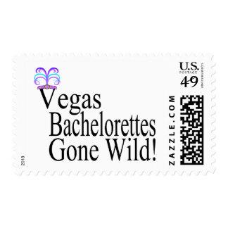 Vegas Bachelorettes Postage Stamp