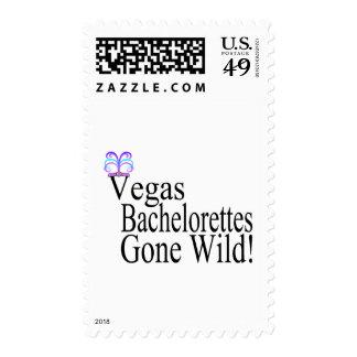 Vegas Bachelorettes Postage Stamps