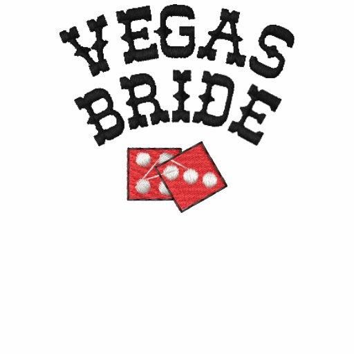 Vegas Bride Embroidered Shirt