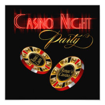 Vegas Casino Night ASK ME 2 PUT YOUR NAME ON CHIPS Custom Announcement