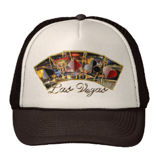 Vegas Casino Style Please View notes Trucker Hats