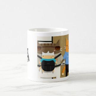 Vegas Cats Coffee Mugs