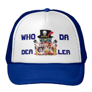 Vegas Dealers Curse DRAW All styles View Hints Trucker Hat