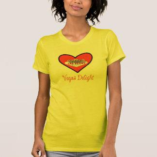 Vegas Delight Ladies AA Reversible Tee Shirts