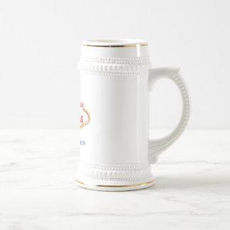 Vegas Destination Wedding Commemorative Stein Coffee Mugs