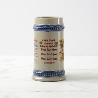 Vegas Dice 7 come 11 View About Design Beer Stein