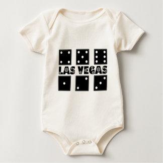 Vegas Dice BullsEYE Target Baby Bodysuit