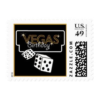 Vegas enciende el franqueo negro de Birthay