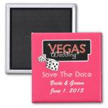Vegas enciende reserva del rosa el imán de la fech