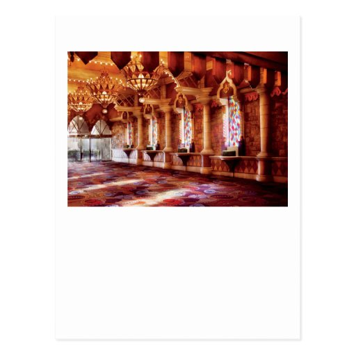 Vegas - Excaliber - In the Great hall Postcard