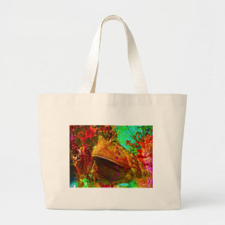 VEGAS FROG LARGE TOTE BAG