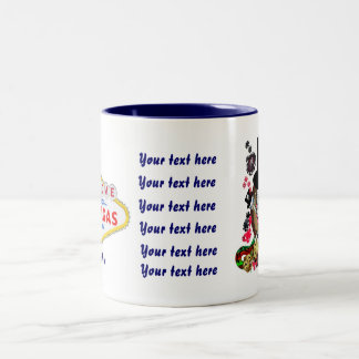 Vegas Gambler All styles View Artist Comments Two-Tone Coffee Mug