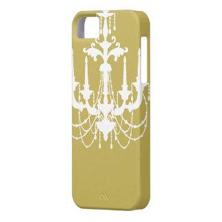 Vegas Gold White Chandelier iPhone 5 Case