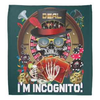 Vegas Incognito Important View About Design Bandana