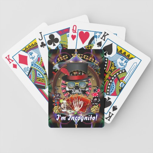 Vegas Ingognito All styles View Hints Bicycle Playing Cards