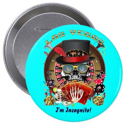 Vegas Ingognito All styles View Hints Pinback Button