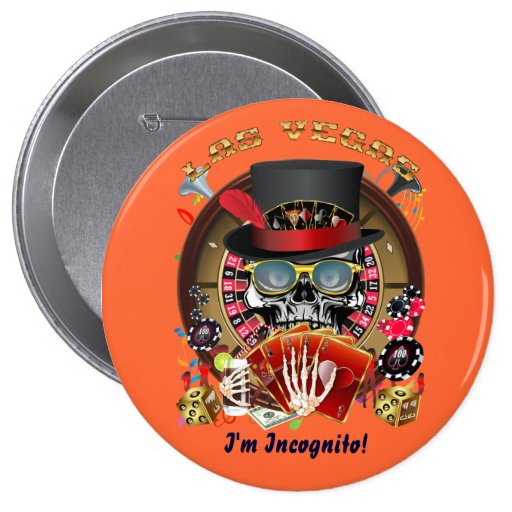 Vegas Ingognito All styles View Hints Pinback Buttons
