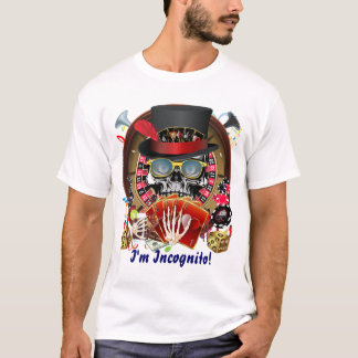 Vegas Ingognito Mens All styles Light View Hints T-Shirt