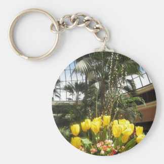VEGAS Interior Decorations TULIP flowers colorful Keychains