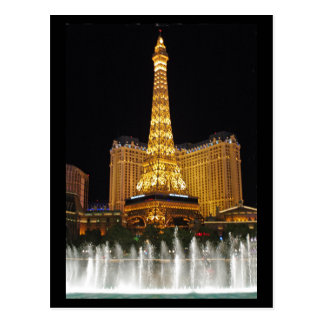 Vegas Lights Postcard