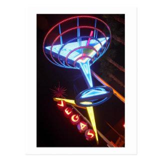 Vegas Martini Postcard