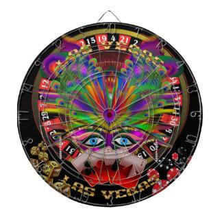 Vegas Masquerade-1 Dartboard