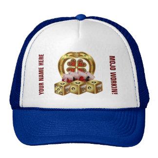 Vegas Mojo View About Design Trucker Hat