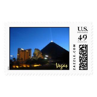 """""""Vegas Night 2007"""" stamp"""