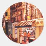 Vegas - NY - Broadway Burger Stickers