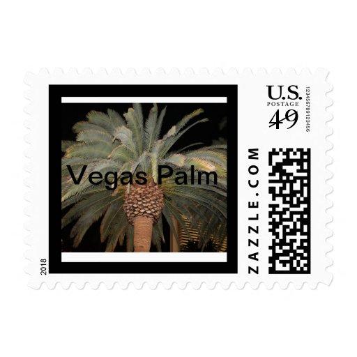 Vegas Palm Postage Stamps
