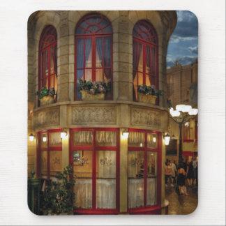 Vegas - Paris - Le Cafe Mouse Pad