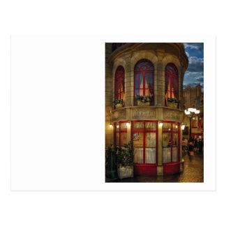 Vegas - Paris - Le Cafe Post Card