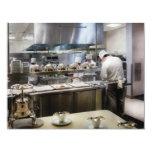 Vegas - París - los cocineros en la torre Eiffel Invitación 10,8 X 13,9 Cm