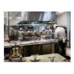 Vegas - París - los cocineros en la torre Eiffel Postal