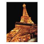 Vegas - París - restaurante de la torre Eiffel Invitacion Personalizada