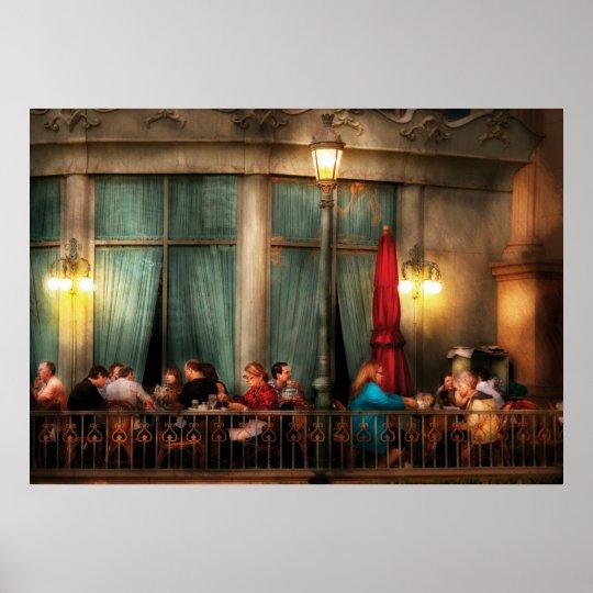 Vegas - Paris - The outdoor Cafe Poster
