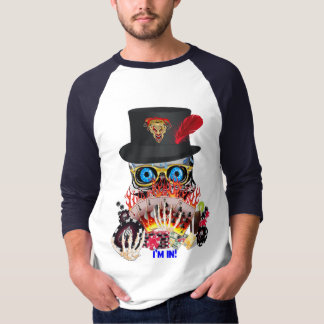 Vegas Party Any Event Aces and Eights View Notes T-Shirt